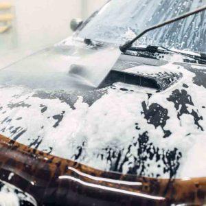 Biltvätt utvändig personbil