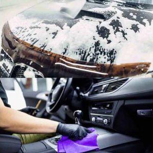 In, Utvändig Biltvätt