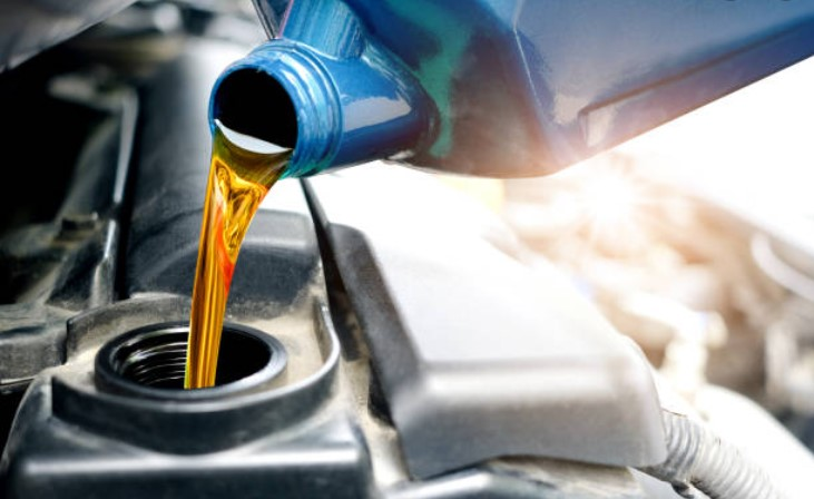 Oljebyte på BMW